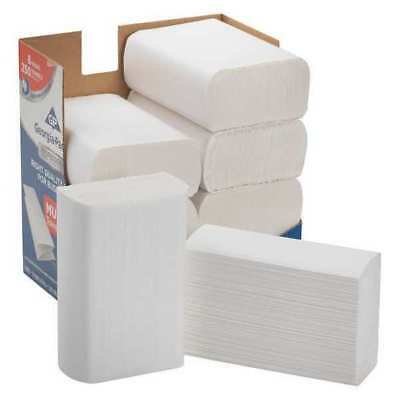 Georgia-Pacific White Paper Towels, Multifold, 8 Pack, 250 Sheets/ Pack, 2212014