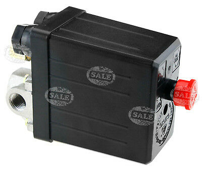 Four Port Manifold Air Compressor Pressure Switch Single Phase
