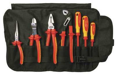 KNIPEX 9K 98 98 27 US Insulated Tool Set, 7-Pieces