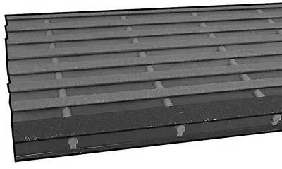 SAFE-T-SPAN 873310 Stair Tread,ISOFR,1 x 10 1/2 In,2 1/2 Ft