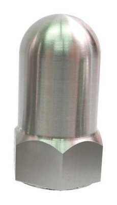 """1/2""""-13 316 Stainless Steel Plain Finish High Crown Acorn Nuts, 1 pk., Z0337-316"""