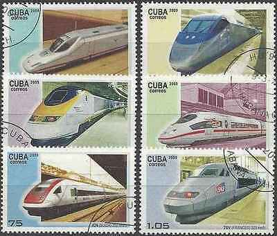 Timbres Trains 4720/5 o lot 19935
