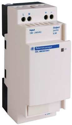 SCHNEIDER ELECTRIC ABL8MEM24003 DC Power Supply,24VDC,0.3A,50/60Hz