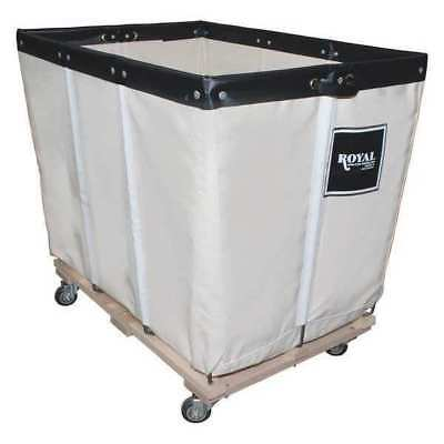 ROYAL G06-CCW-PMA-3UNN Permanent Liner Basket Truck, 6 Bu, Canvas