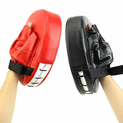 Boxing Training Focus Target Punch Strike Pad Glove MMA Karate Combat Cheaply