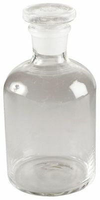 Reagent Bottle,Clear,Narrow,250 mL,Pk6 LAB SAFETY SUPPLY 5YHF6