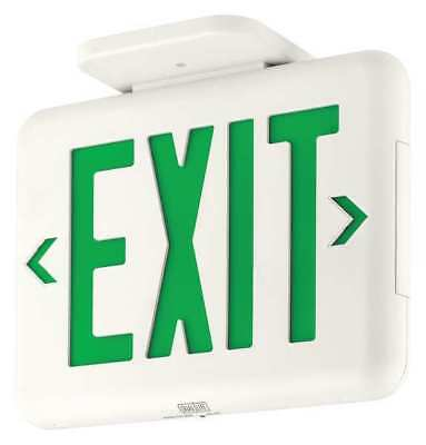 HUBBELL LIGHTING DUALLITE Exit Sign HUBBELL LIGHTING - DUAL-LITE EVEUGWEI