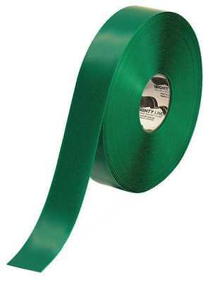 Industrial Floor Tape,Roll,Green,Vinyl MIGHTY LINE 2RG