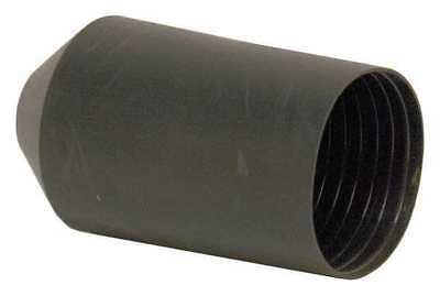 Shrink End Cap,2.95in ID,Blk,5-1/8in,PK5 IDEAL 46-384