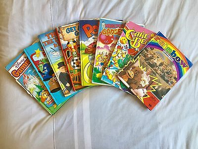 Vintage Collectable Children's Books Annuals 1986-1988 - Rainbow, Popeye & More