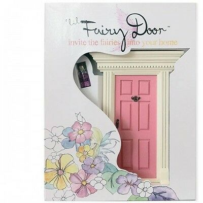NEW 'lil Fairy Door Light Pink & Fairy Dust - Kids Genuine Pretend Play Fairies