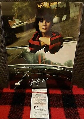 11x14 Color Photo in Car SIGNED AUTOGRAPHED by LINDA RONSTADT JSA COA W973664