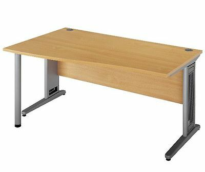 Commercial Left Wave Right Wave Desk Variety Of Sizes & Colours