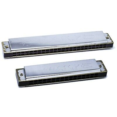 Chase Blues Harmonica Diatonic Tremolo Key of C Major Mouth Organ Country Folk