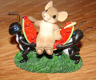 Ant No Picnic Without You (Charming Tails by Enesco, 4039552) Leaf & Acorn Club