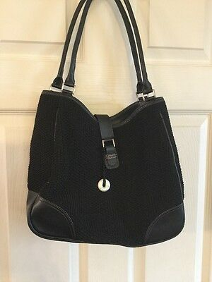The Sak Black Shoulder Bag Purse Tote Shopper