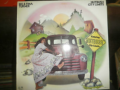 Ike & Tina Turner - Nutbush City Limits UAS 29 557 I German LP, united