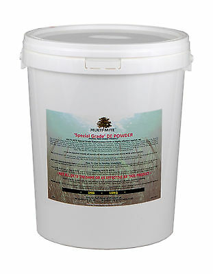 MULTI MITE® 10KG BUCKET DIATOMACEOUS EARTH DE Powder Feed Supplement