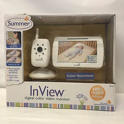 BK10CG3 Summer Infant In View Digital Color Video Baby Monitor
