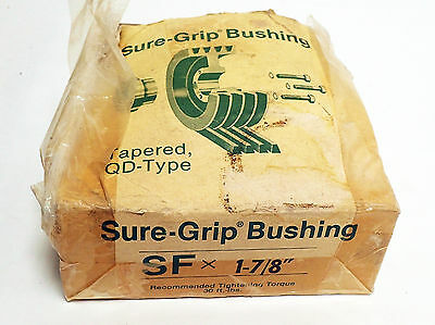 """Tb Woods Sure-Grip Bushing  Sf X 1-7/8"""" With Instructions And Original Box"""