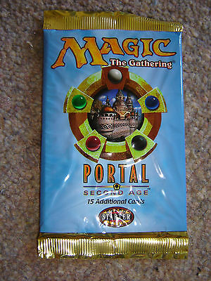 Magic The Gathering - Portal Second Age - 15 Cards - Sealed Packet