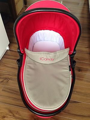 icandy Peach 3 Blossom Carrycot Sherbet