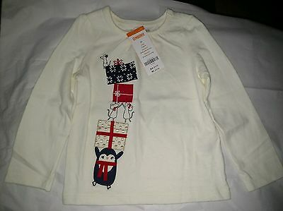 Gymboree Long Sleeve Infant Toddler Girl Size 2T NEW w Tags