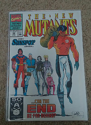 New Mutants # 99 ~ 1St Appearance Of Feral ~ 2Nd Shatterstar ~ Key Issue!