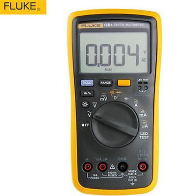 FLUKE 18B+ Digital Multimeter Meter LED test With soft case KCH17 NEW