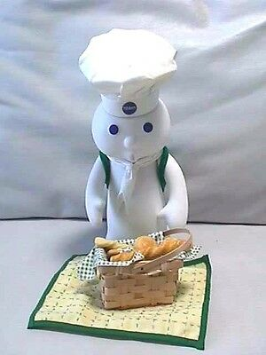 Collectors Pillsbury Doughboy Figuine Picnic Surprise with Box
