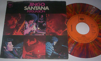 "SANTANA - JINGO / PERSUASION - 7"" Single - 1969 - CBS 4612 - COLORED VINYL !"