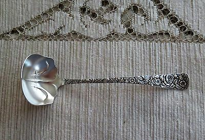 "Arlington Sterling Silver Solid Bright Cut Cream Ladle by Towle 5 3/4""  No Mono"