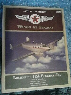 wings of Texaco Lockheed 12a Electra Junior 17th in the series