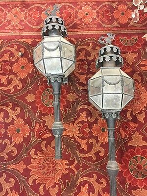 Old Exterior Wall Sconces With Cherubs