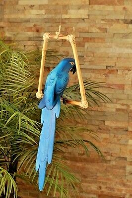 Blue Macaw Parrot- Luau Party/tiki Bar/forest/rio Movie-Beach-Pool-Tropical/hut