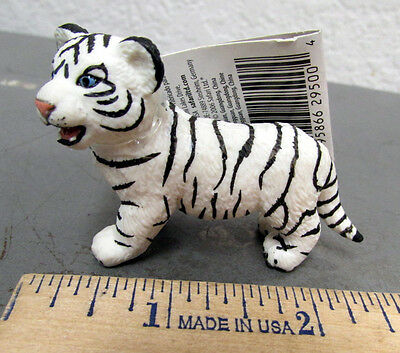 Toys & Hobbies White Bengal Tiger Baby 6 Cm Series Wild Animals Safari Ltd 295029