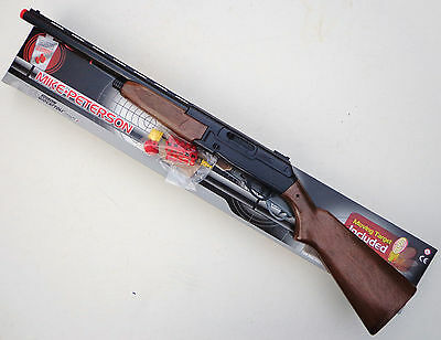 Toy Rifle - Mike Peterson Target Rifle Fires Harmless Gummy Pellets - Toy Guns