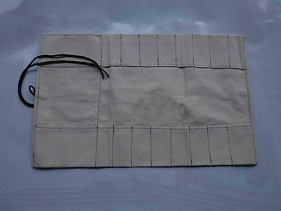 8 pocket Japanese Chef Knife Roll Bag Canvas Bag Chef Knife Carry Case Wallet