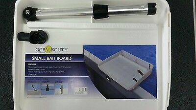 Small bait board 460mm x 375mm With Rod Mounting