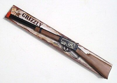 Toy Rifle - Grizzly - Kids 13 Shot Toy Cap Rifle - Toy Guns For Kids