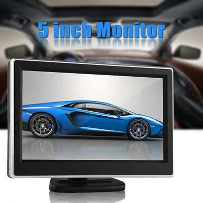 5 pollici TFT-LCD 2-CH View Car posteriore del monitor VCD / DVD / GPS Monitor