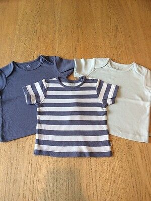 3x Baby Boy Tops From TU age 9-12 Months