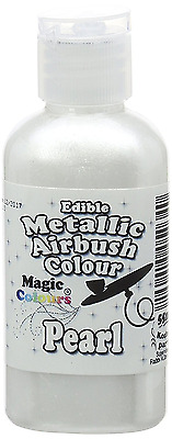 Magic Colours Metallic Edible Airbrush Pearl Concentrated Liquid Food Color