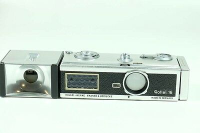 Rollei 16 with Flash!!!Great Value in a Collectible Mini!!!