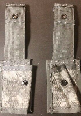 5ea!!  US ARMY SURPLUS 40MM SINGLE EXPLOSIVE POUCH**NEW NEVER ISSUED**MOLLE II