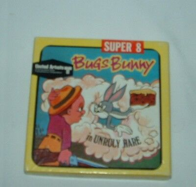 "Vtg 1967 SUPER 8 Movie Film 5533 ""BUGS BUNNY in UNRULY HARE"" United Artists RARE"