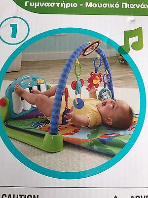fisher-price kick play piano gym Excellent Condition
