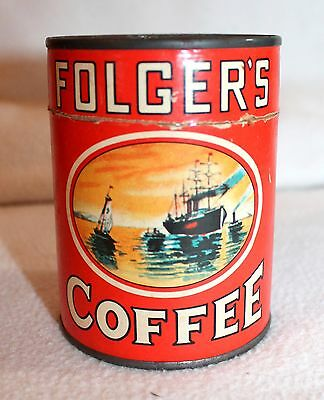 Vintage Folgers Coffee Puzzle Promo Country Collectible