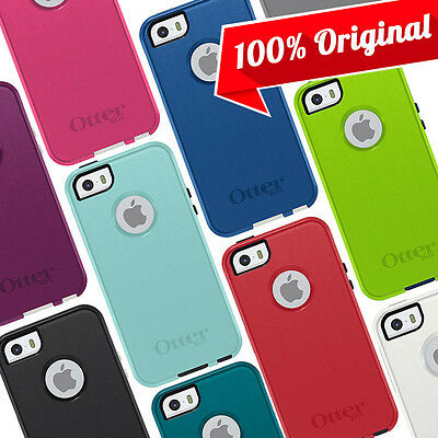 NEW OEM Otterbox Commuter Case Original Cover Pink Black Blue for iPhone 5 5S SE