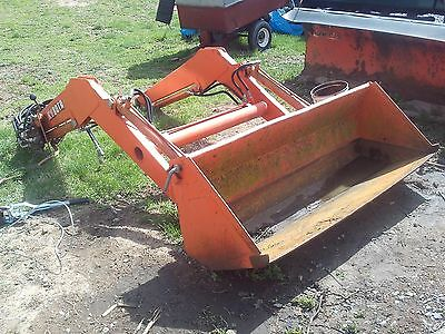 Kubota Tractor Loader Attachment Bucket Bf500